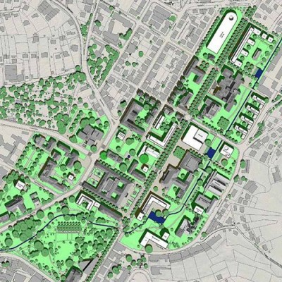 Rahmenplan Zentralcampus der Eberhard Karl Universität, Tübingen