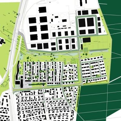 Rahmenplan Kirchfeldsiedlung Neureut, Karlsruhe