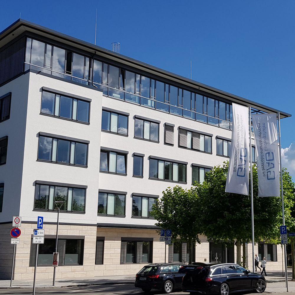 Verwaltungsgebäude GAG, Ludwigshafen